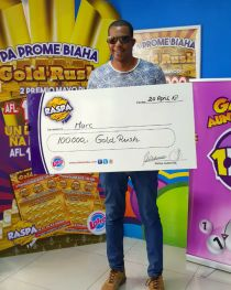 Raspa Gold Rush 100.000 20APR2018